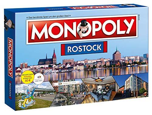 Winning Moves Monopoly Rostock City Stadt Edition Spiel Gesellschaftsspiel Brettspiel