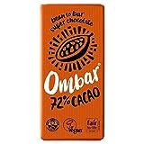 Ombar Ombar Chocolate Negro 72 Bio 70 G Tableta 70 G - 500 g