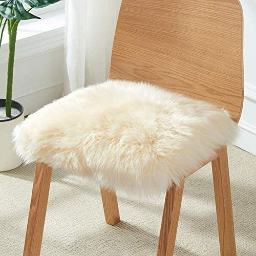 Suge Thicken Cashmere Chair Cushion,warm Chair Sofa Cushion,futon Seat Cushion,office Seat Pad,matt Tatami Window Cushion Floor Mat B 40x40cm (Color : A, Size : 40x40cm(16x16inch))