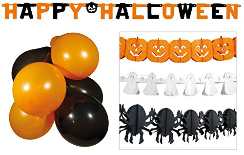 Kit décorations Halloween - taille - Taille Unique - 224603