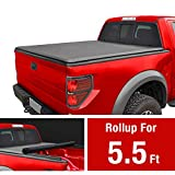 MAXMATE Soft Roll Up Truck Bed Tonneau Cover for 2009-2014 Ford F-150 | Styleside 5.5' Bed