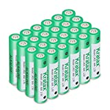 AAA Alkaline Batteries Kratax AAA Alkaline Batteries, Long-Lasting, All-Purpose Triple A Battery for Household and Business - 24 Count