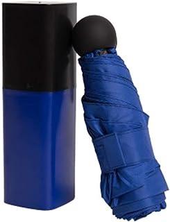 Umbrella Windproof Umbrella Folding Sunshade Dual Use Pocket Mini Solid Color Easy to Carry (Size : F)