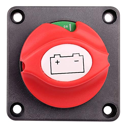 6V 12V 24V Battery Isolator Power Kill Switch for Marine Car Boat RV ATV Vehicles LotFancy 2 PCS Battery Disconnect Switch With Waterproof Key and Cover