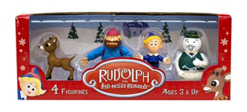 Beverly Hills Teddy Bear Company Rudolph #1 Classic Set (4 Pack)