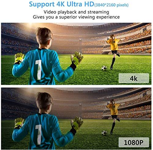 Mini PC, 2GB DDR3 32GB eMMC, Windows 10 Pro, Mini Computer, Intel Atom Z8350 Processor, Dual Band WiFi 2.4G/ 5.0G, 4K HDMI Output, USB 3.0
