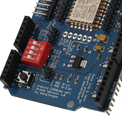 PIXNOR ESP8266 ESP-12E UART WIFI Wireless Schild Development Board für Arduino UNO R3