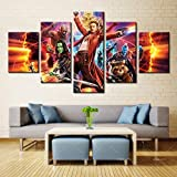 Canvas Leinwanddrucke Guardians of The Galaxy Print Poster