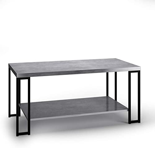 """high quality Giantex lowest Coffee Accent Tea Table for Modern Living Room Bedroom Steel online Metal Pine Frame Tables W/Faux Marble Top Cocktail Table (39.5""""x20""""x18"""", Stone Gray) online sale"""
