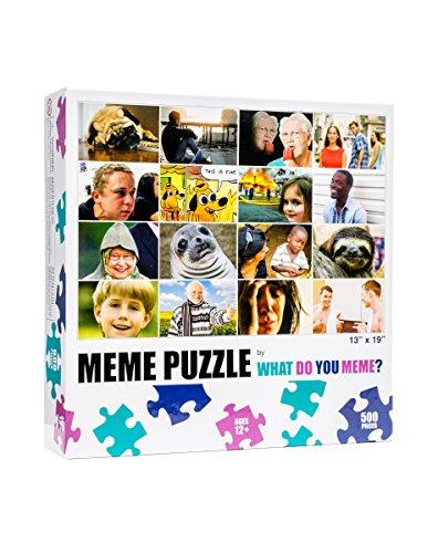 Grid 500 Piece Jigsaw Puzzle