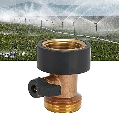 Gaeirt Conector ValveHose, válvula de Bola para jardín, Agarre cómodo para la conexión de tuberías de Agua en Jardines y hogares