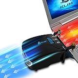 KLIM Tornado Refroidisseur PC Portable - Nouveau + INNOVANT - Refroidissement Rapide...