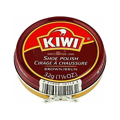 Kiwi Shoe Polish Paste, Brown