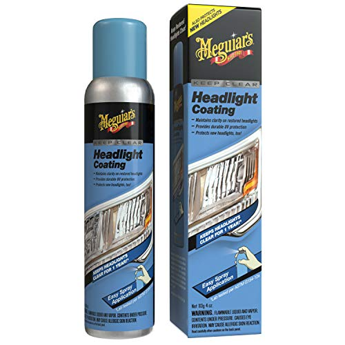 Meguiar's G17804 Keep Clear Headlight Coating, 4 oz. – Maintain the Clarity of Your Headlights