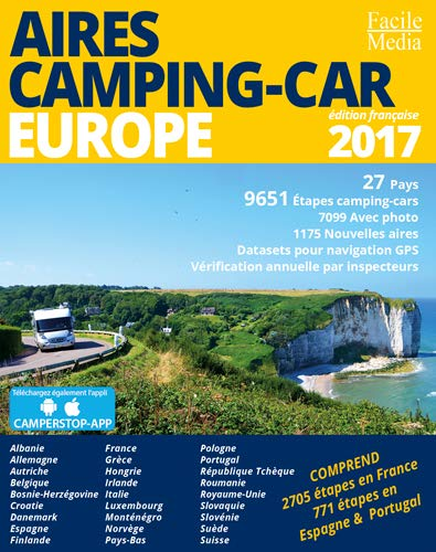 AIRES CAMPING-CAR EUROPE 2017 (GUIDES - Divers)