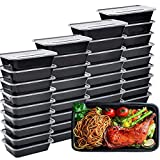 IUMÉ 50-Pack Meal Prep Container, 750ML/ 26 OZ Microwavable Food...