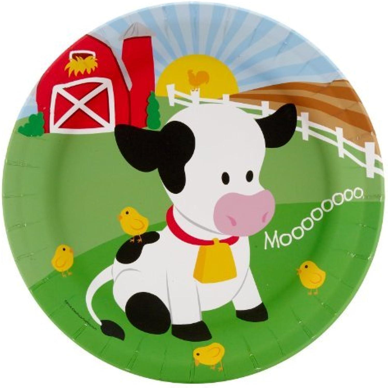 tienda en linea Farm Animal Party Supplies - Dinner Plates (8) (8) (8) by BirthdayExpress  edición limitada
