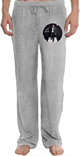 Hefeihe Amr Diab Ahla W Ahla Men's Sweatpants Lightweight Jog Sports Casual Trousers Running Training Pants