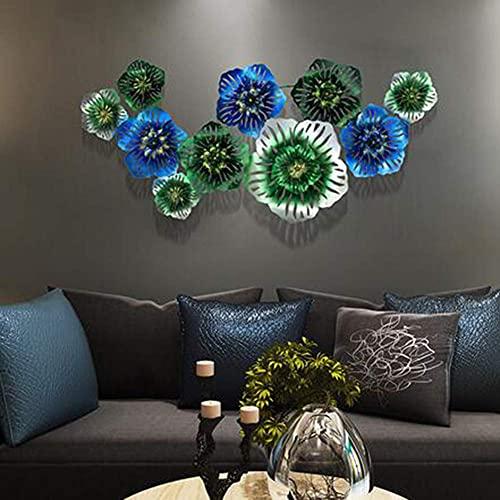 10 Lotus Metal Wall Art, Metal Lotus Flower Art 48
