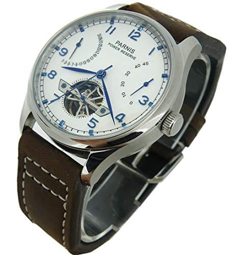 CursOnline Elegante Reloj clásico para Hombre Famosa Marca Parnis Original PN809 con...