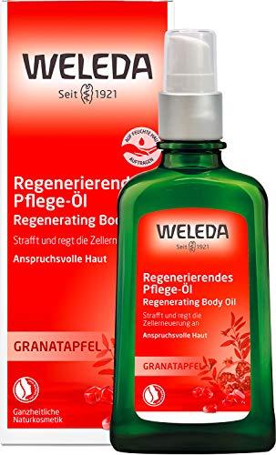 WELEDA Granatapfel Regenerierendes Pflege-Öl, intensives Naturkosmetik Körperöl mit pflanzlichen Ölen für anspruchsvolle Haut, Pflege Öl zur Förderung der Zellerneuerung und Elastizität (1 x 100 ml)