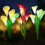 WOSPORTS Solar Lights Outdoor Garden Stake...