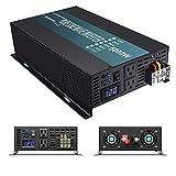 WZRELB Onda sinusoidal Pura 5000 W (10000 W) 24V inversor de Corriente CC a alimentación de CA - Solar, RV, RBP-S500024