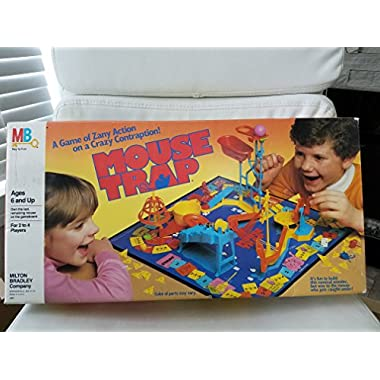 Mouse Trap Board Game 1986 Edition