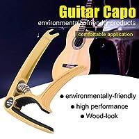 あらゆるギター技術者のためのギター愛好家のための便利なギターチューナーポータブル(Imitation wood grain)