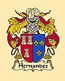Carpe Diem Designs Hernandez Coat of Arms/Hernandez Family Crest 8X10 Photo Plaque, Personalized Gift, Wedding Gift