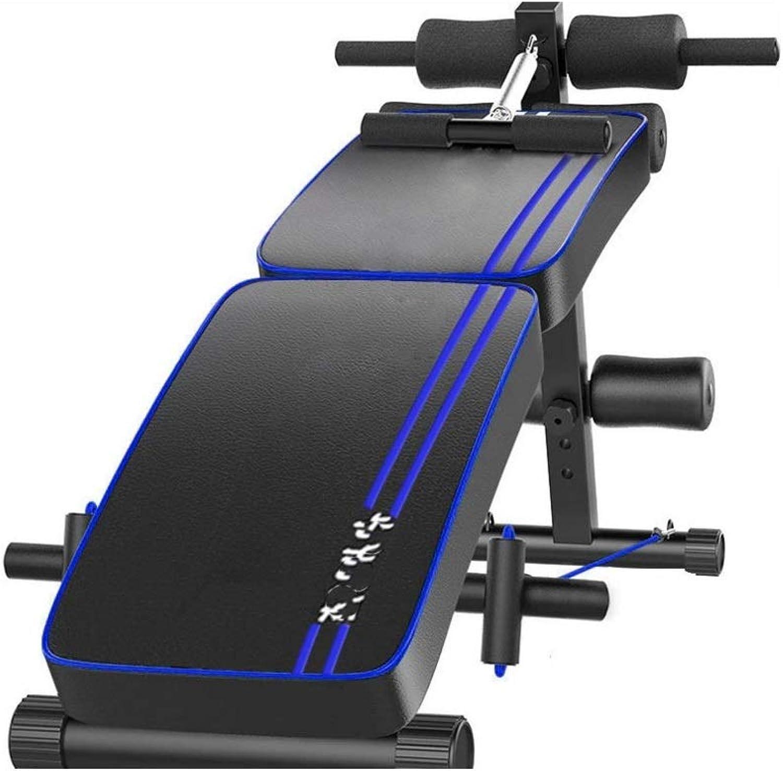DMMW Rückenbrett Doppelklappbar Sicherheits- und Komfort-Multifunktionsbrett für den Heimgebrauch Mnner und Frauen rotuzieren die Fitnessgerte für den Bauch