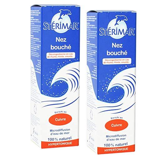 STERIMAR Nez Bouché Duo (2 x 100 ml)