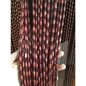 Matériel: Le rideau de perles est composé de perles de différentes formes et est équipé de rails et d'accessoires de montage. Fonction: Le rideau de perles peut être utilisé comme rideau de porte, rideaux, séparateur de pièce, fond d'écran et décorat...