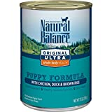 Natural Balance Original Ultra Whole Body Health Puppy Wet Dog Food,...