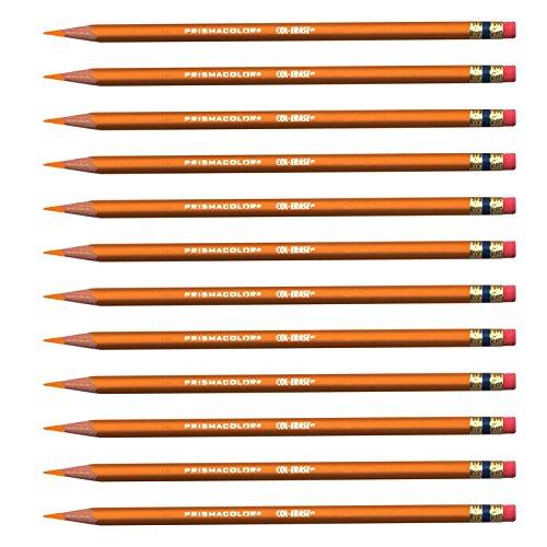 Prismacolor Col-Erase Erasable Colored Pencil ORANGE Set/12