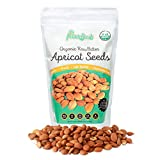 Certified Organic Bitter Apricot Seeds by My Power Seeds (1 pound bag) | Natural Source of Vitamins,...
