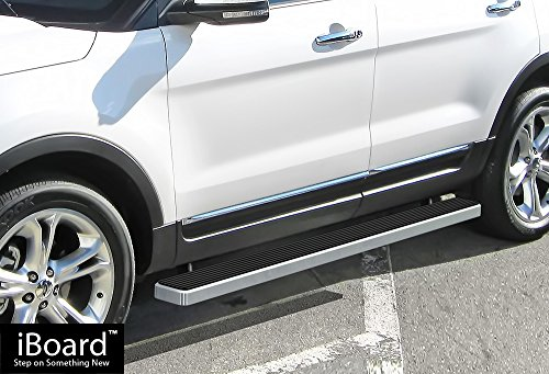APS IBFY4847 Silver 5' Running Board Side Step (iBoard Third Generation, For...