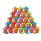 Learning Resources Alphabet Acorns Activity Set, Homeschool, Visual & Tactile Learning Toy, 78 Pieces, Easter Basket Gifts, Easter Gifts for Kids, Ages 3+