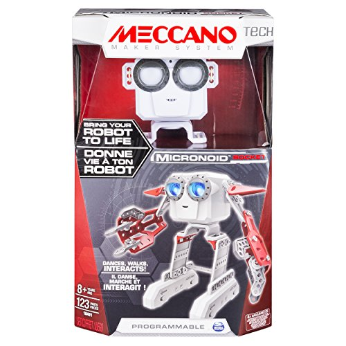 Meccano - Micronoid - Red Socket