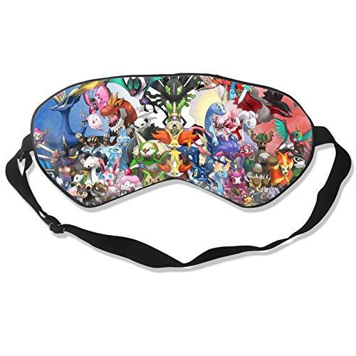 2021 Pocket Mons-ters Tajiri 3D Druck Ostern TV Show Pokemon Pikachu Schlafmasken & Augenbinde Augenschutz Rest Shield Unisex 3D Druck Ostern