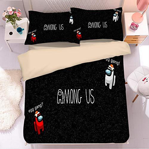 Bedclothes-Blanket Juego de sabanas Infantiles Cama 90,Ropa de Cama de impresión Digital 3D-5_180x210