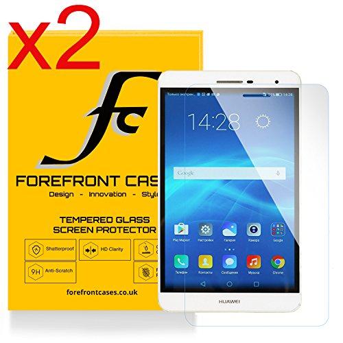 Forefront Hülles® [HD KLARHEIT] Gehärtetes Glas Display Schutz Protektor Folie für Huawei MediaPad M2 7.0 / T2 7.0 Pro [Ultra DÜNN nur 0.3mm]