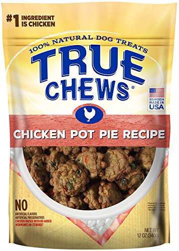 True Chews Chicken Pot Pie Recipe 12 oz, Brown, Medium (019370-2303)