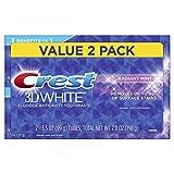 Pasta de dientes blanqueadora y con menta crest 3d white radiant, 100 g
