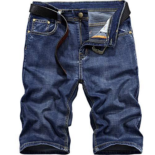 Pantalones Cortos de Playa de Verano Hombres Bolsillo de natación Troncos de natación de Secado rápido Entrenamiento Running Pantalones Cortos de Movimiento Tallas Grandes