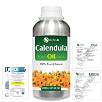 Calendula (Calendula officinalis) 100% Natural Pure Essential Oil 2000ml/67 fl.oz.