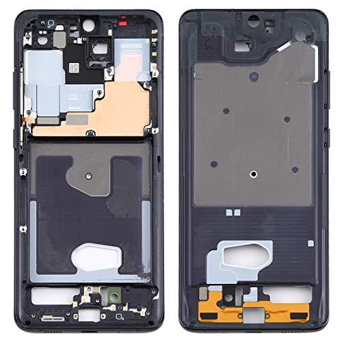 BEIJING  SCREENCOVER+ / para Samsung Galaxy S20 Ultra Tiene Un Bisel De Marco Medio con Teclado Lateral, Reemplazo LCD Placa Placa ATRÁS BIELEL (Color : Negro)