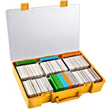 Large 2200+ Trading Card Game Holder Organizer, Deck Box Case Storage Compatible with Cards Against Humanity/MTG/Yugioh/Dominion/Pokemon, Baseball Card, Sport Cards, Fits Main Game and All Expansions