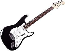 fleetwood mac autographed guitar