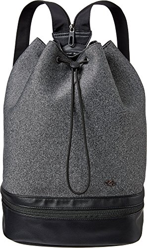 CALIA by Carrie Underwood Cinched Top Backpack (One Size, Heather Grey)